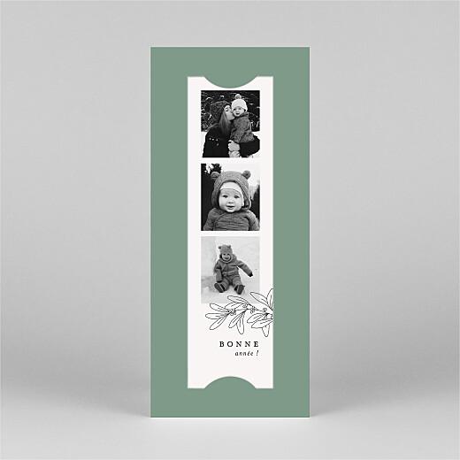 Carte de voeux Jeune pousse (marque-page) vert - Vue 2