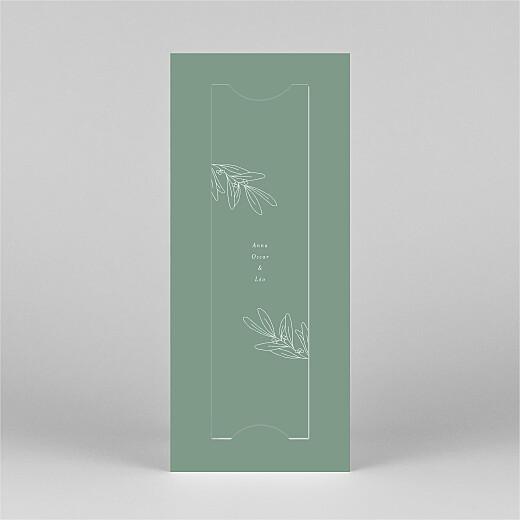 Carte de voeux Jeune pousse (marque-page) vert - Vue 3