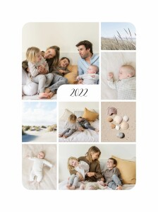 Affichette Tendre innocence (8 photos) blanc