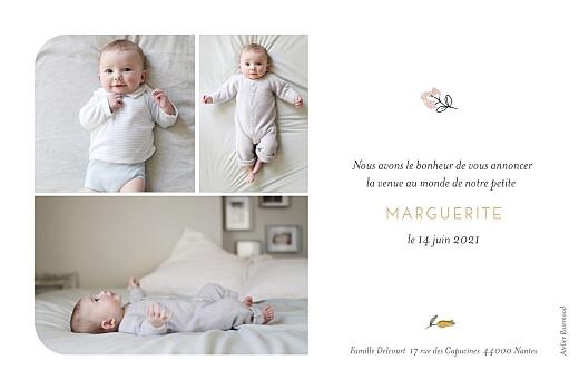 Faire-part de naissance Doux rêves rose - Page 2