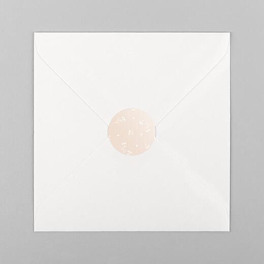Stickers pour enveloppes naissance Doux rêves rose - Vue 1