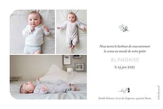 Faire-part de naissance Doux rêves bleu - Page 2