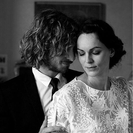 Carte de remerciement mariage Poésie amoureuse blanc - Page 2
