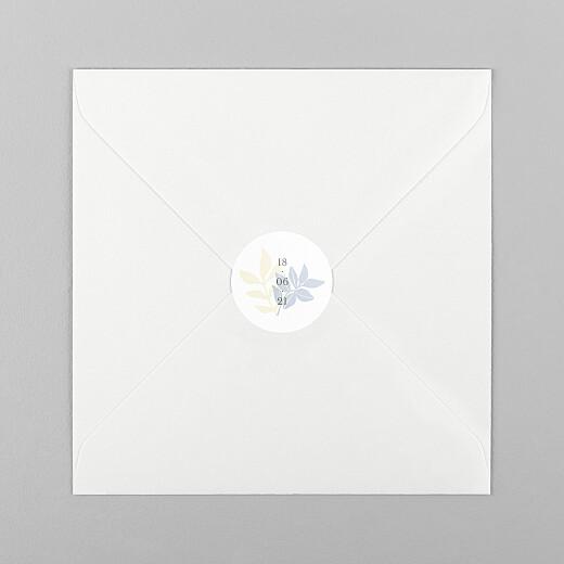 Stickers Naissance Douce canopée bleu - Vue 1