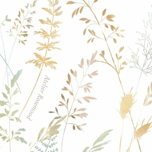 Etiquette perforée baptême Les hautes herbes sable - Page 2