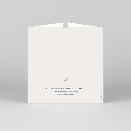 Faire-part de mariage Nature chic (fenêtre) beige - Vue 3