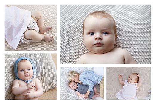 Faire-part de naissance Son prénom (5 photos) corail - Page 2
