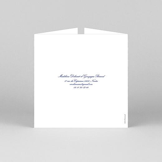 Faire-part de mariage Élégant (fenêtre) blanc - Vue 3