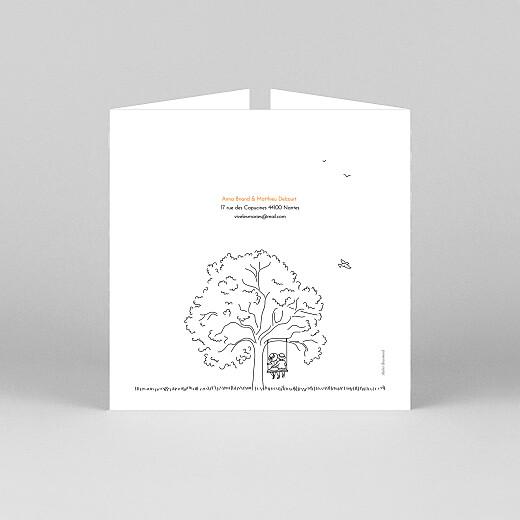 Faire-part de mariage Promesse champêtre (grande fenêtre) blanc - Vue 3