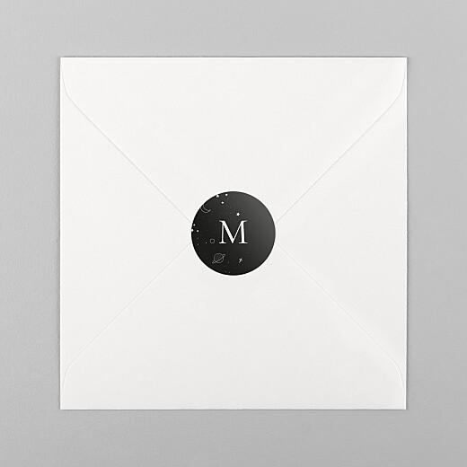Stickers Naissance Rêve bleu noir - Vue 1