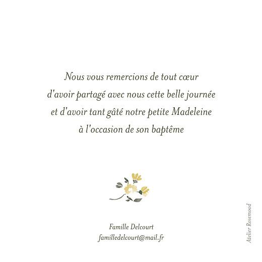 Carte de remerciement Mon petit trousseau beige - Page 2
