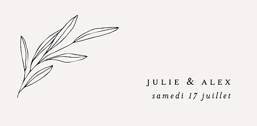 Marque-place mariage Jeune pousse beige - Page 4