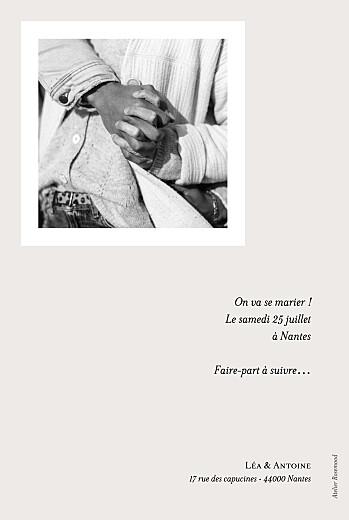 Save the Date Bel avenir blanc - Page 2