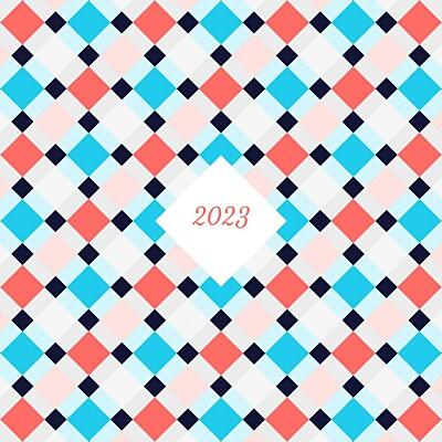 Carte de voeux Paddington bleu corail finition