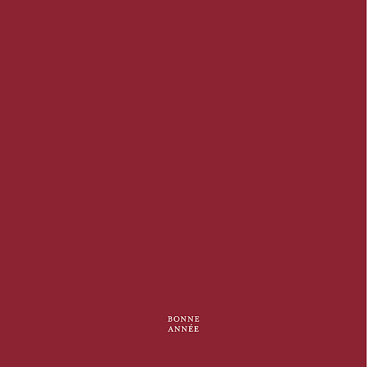 Carte de voeux Psyché (4 pages) rouge