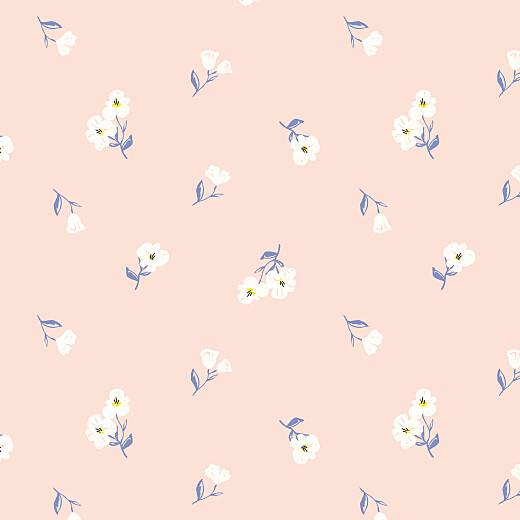 Faire-part de naissance Blossom (triptyque) rose - Page 3
