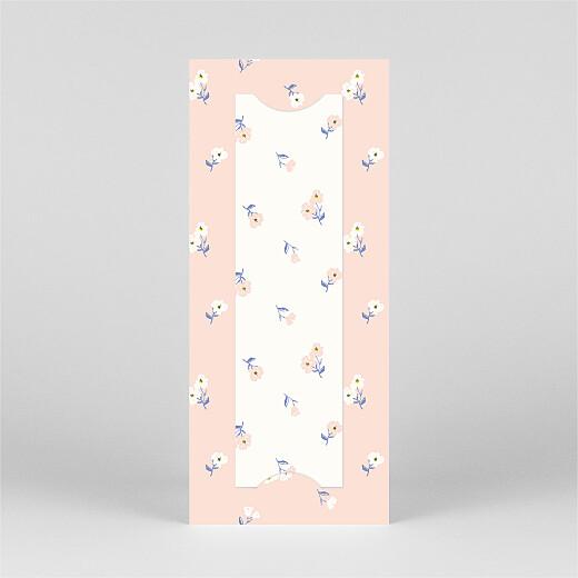 Faire-part de naissance Blossom (marque-page) rose - Vue 3