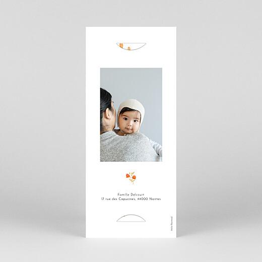 Faire-part de naissance Quatre saisons (marque-page) automne - Vue 4