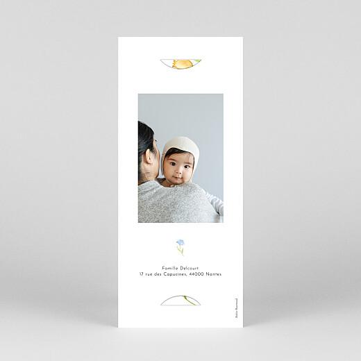 Faire-part de naissance Quatre saisons (marque-page) printemps - Vue 4