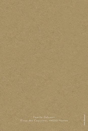 Carte de voeux Saison des vœux (4 pages) vert - Page 4