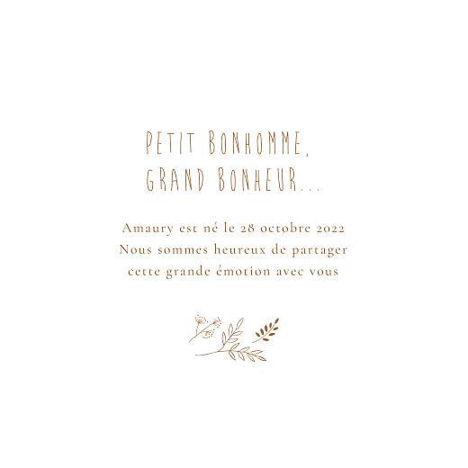 Faire-part de naissance Ronde des prés (dorure) rose poudré - Page 3