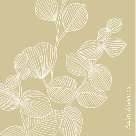 Etiquette perforée mariage Envolée d'eucalyptus ocre - Page 2