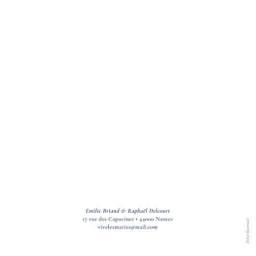 Faire-part de mariage Ronde des prés (4 pages) bleu - Page 4