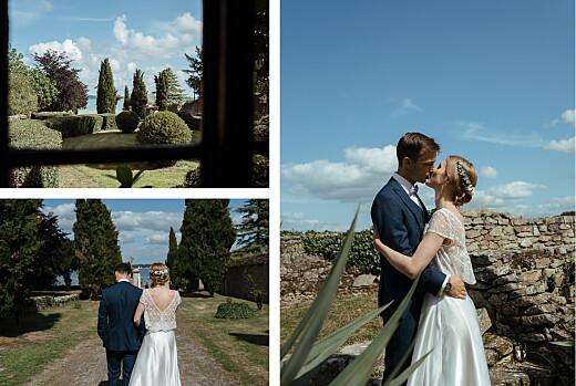 Carte de remerciement mariage Ronde des prés (4 pages) vert - Page 2