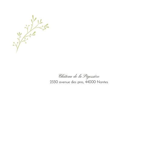 Faire-part de mariage Brins d'été (4 pages) lichen - Page 2