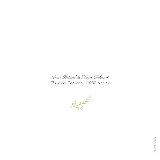 Faire-part de mariage Brins d'été (4 pages) lichen - Page 4
