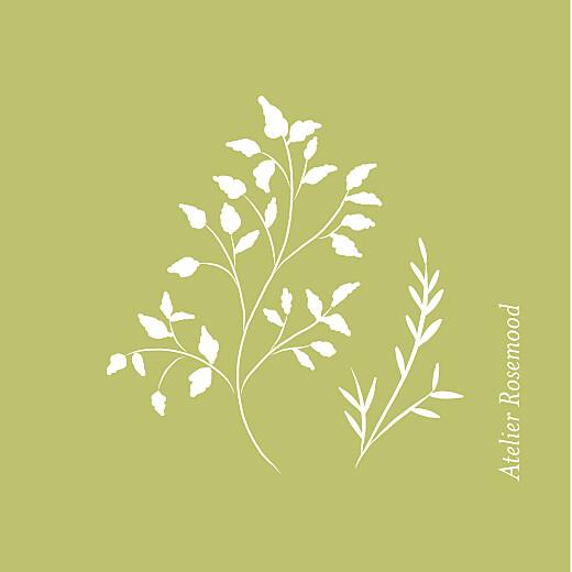 Etiquette perforée mariage Brins d'été bamboo - Page 2