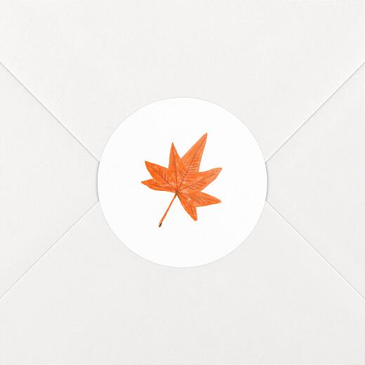 Stickers pour enveloppes naissance Petits habits blanc - Vue 2