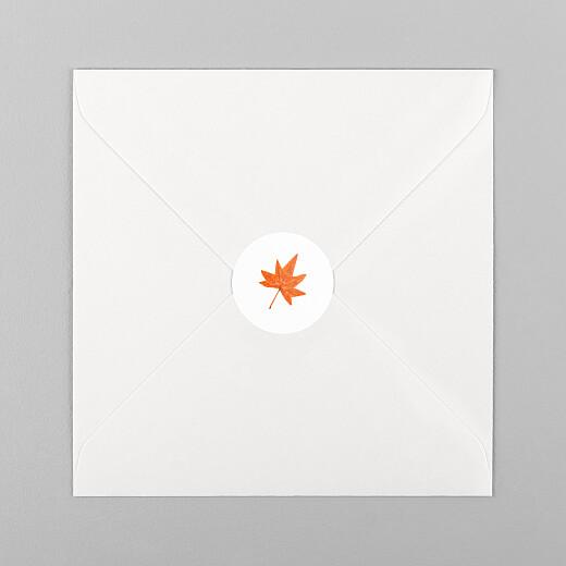 Stickers pour enveloppes naissance Petits habits blanc - Vue 1