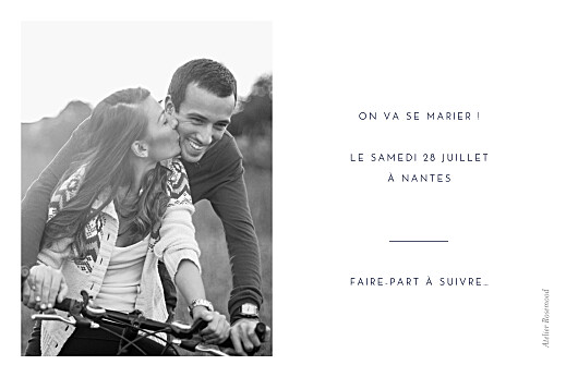 Save the Date Intemporel vert - Page 2