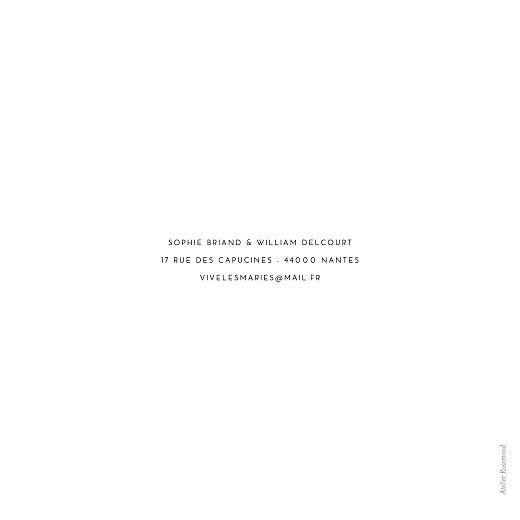 Faire-part de mariage Intemporel blanc - Page 4