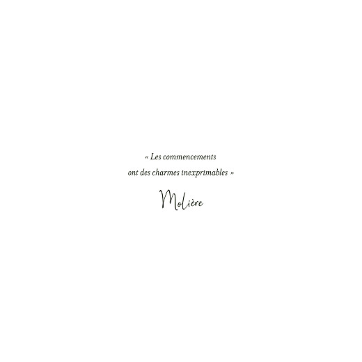 Faire-part de mariage Enchanté (4 pages) vert - Page 2