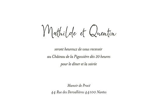 Carton d'invitation mariage Enchanté (dorure) vert - Page 2