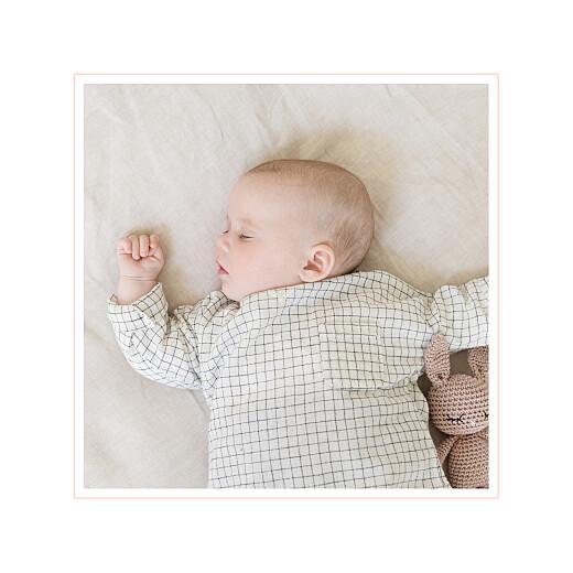 Faire-part de naissance Comptine photo 4 pages (dorure) rose - Page 2