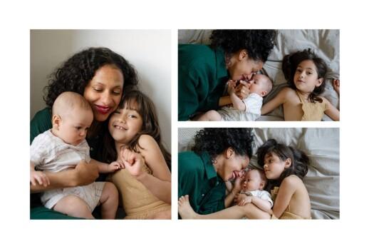 Faire-part de naissance Summer family (1 enfant) 1 - Page 2