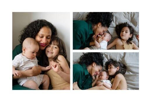 Faire-part de naissance Summer family (5 enfants) 1 - Page 2