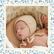 Faire-part de naissance Petit liberty coeur (triptyque) bleu page 6