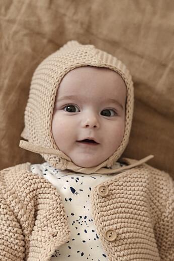 Faire-part de naissance Petit lapin champêtre fille - Page 2