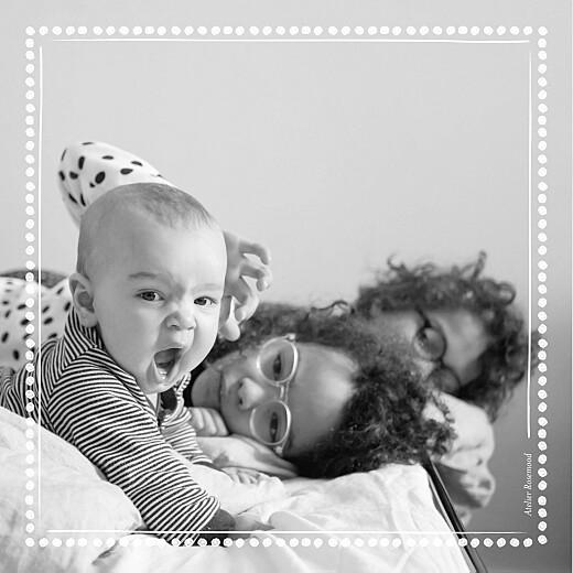 Faire-part de naissance Ma perle 3 photos blanc - Page 4
