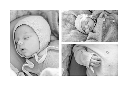 Faire-part de naissance Winter family (4 enfants) 1 - Page 2