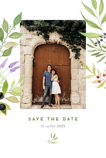 Save the Date Quatre saisons été