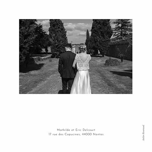 Carte de remerciement mariage Quatre saisons (4 pages) automne - Page 4