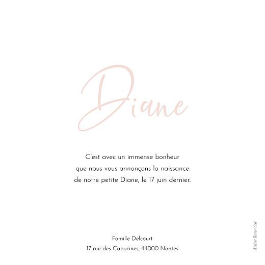 Faire-part de naissance Pastille rose - Page 2