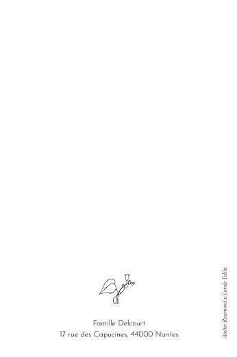 Carte de correspondance Petit colibri vert - Page 2