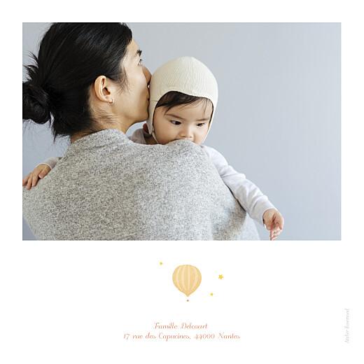 Faire-part de naissance Petites montgolfières rose - Page 4