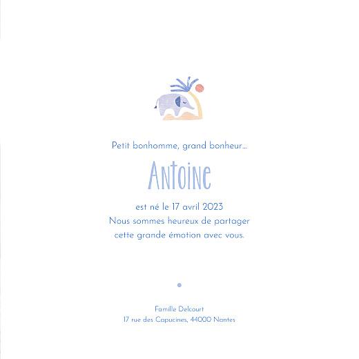 Faire-part de naissance Douce savane (4 pages) beige - Page 3